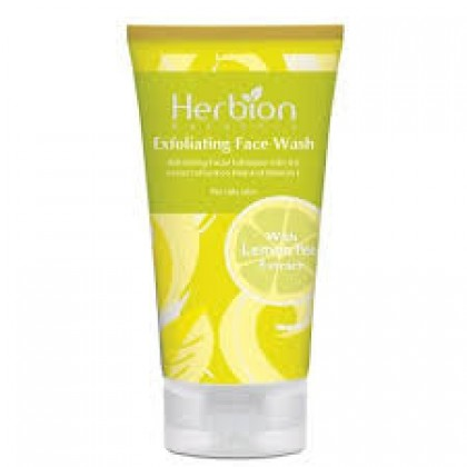 Herbion Naturals Exfoliating Face Wash Lemon 100ml